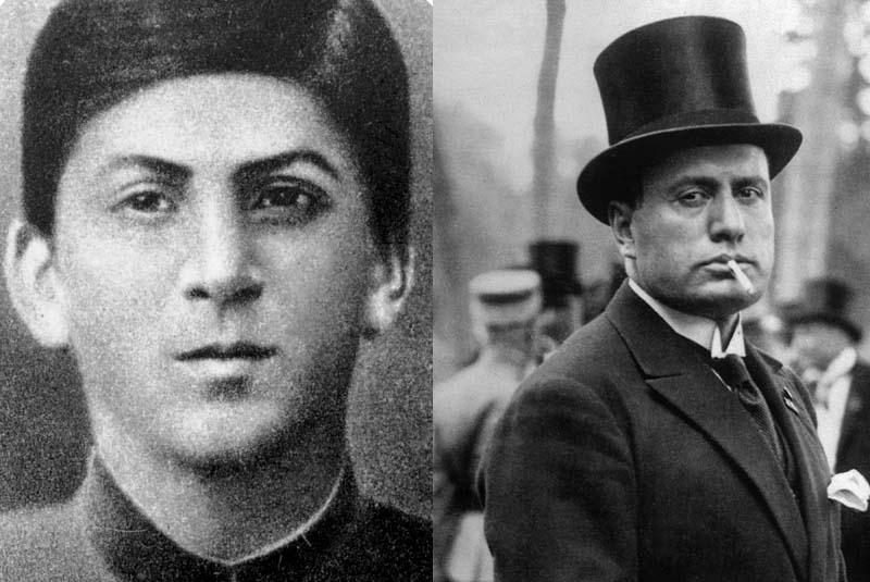 Жизнь и детство бунтаря Муссолини