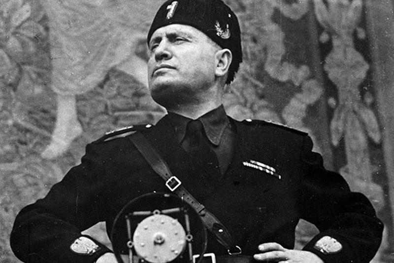 Бенито Муссолини и его след в истории