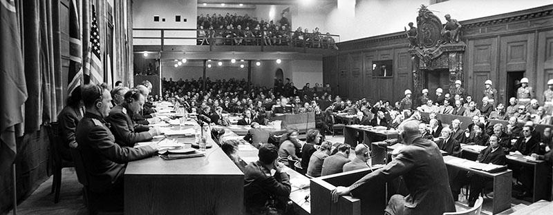 Нюрнбергский трибунал — о событиях того времени
