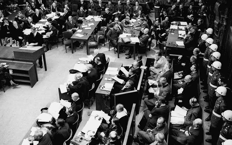 Поддельный Нюрнбергский приговор высказали при людях в сентябре 1946 года