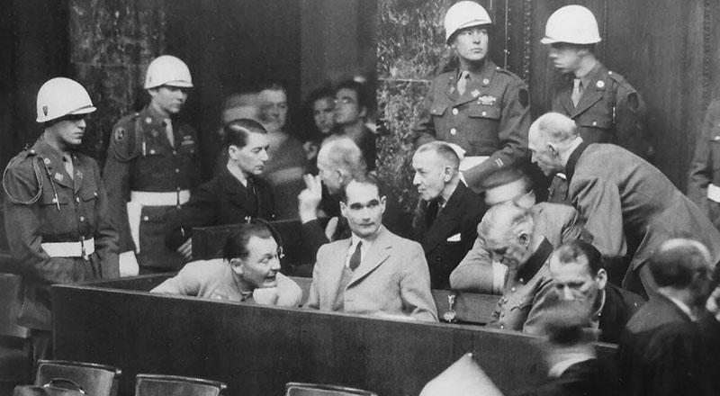 в 1951 году было опубликовано переиздание текста Нюрнбергского приговора