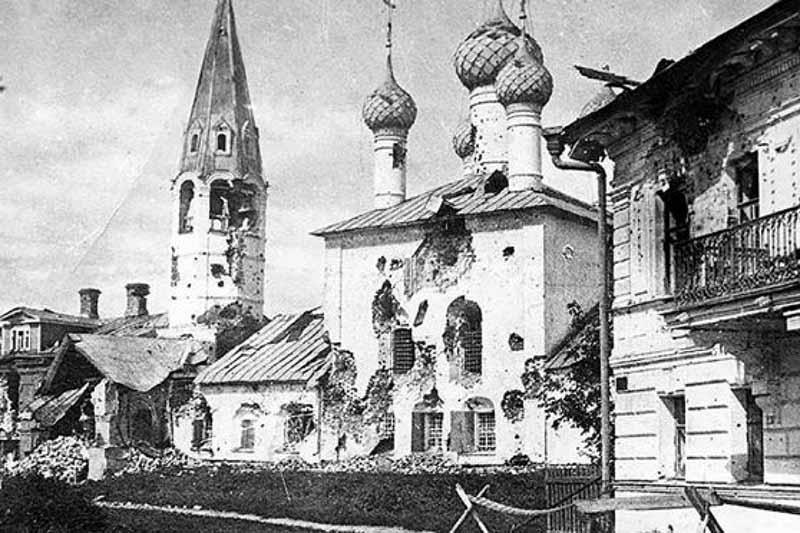 Бой в Ярославле  21 июля 1918 года