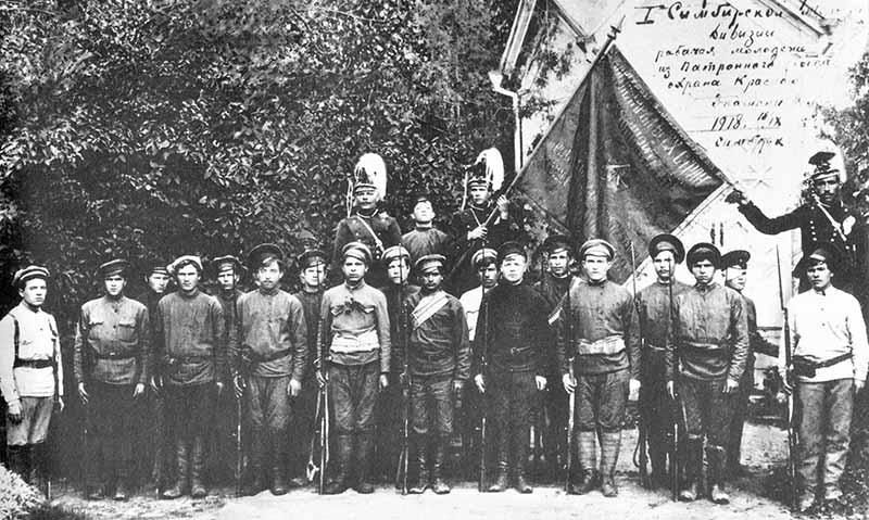 Взятие Симбирска 21 июля 1918 года