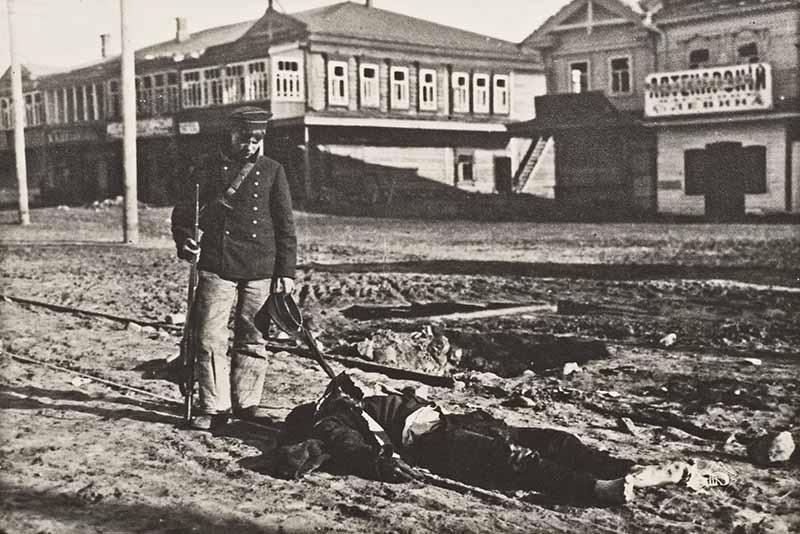 Эпоха Гражданской войны в России начала XX века