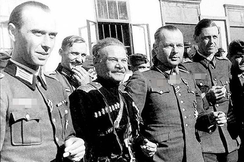 атаман Шкуро предал свою родину и перешел на сторону Гитлера