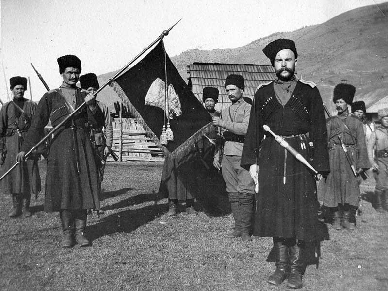 Атаман Шкуро был организатором «Волчьей сотни»