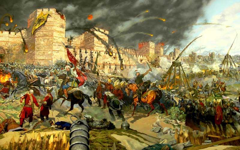 Византийско-османские войны  Продолжалась война 214 лет.