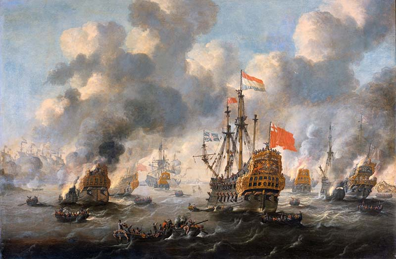 Нидерланды заявили архипелагу Силли, что объявляют войну.