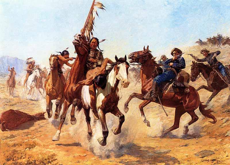 Индейские войны  Длительность – 268 лет
