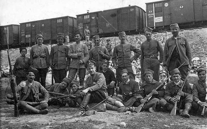 Большевики считали, что вооруженных представителей Чехословацкого корпуса следует эвакуировать из российской территории
