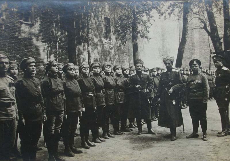 в России был создан Женский батальон смерти