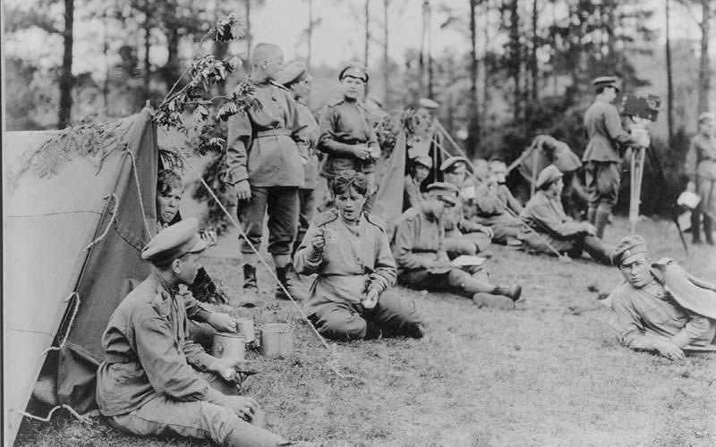 приказом от 21 июня 1917 года был создан женский специальный батальон