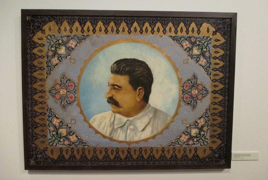 Ковер с портретом Сталина