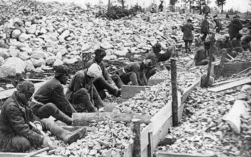 События 1933 года на острове Назино: Назинская трагедия
