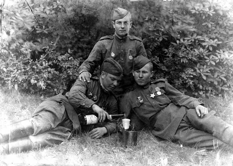 Как говорили некоторые военные, «спиртное для храбрости» не помогает.