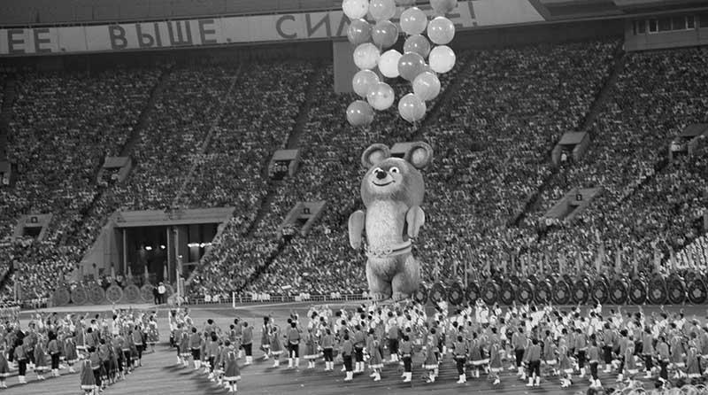 Олимпийские игры  1980 год