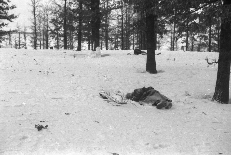 Погибший солдат