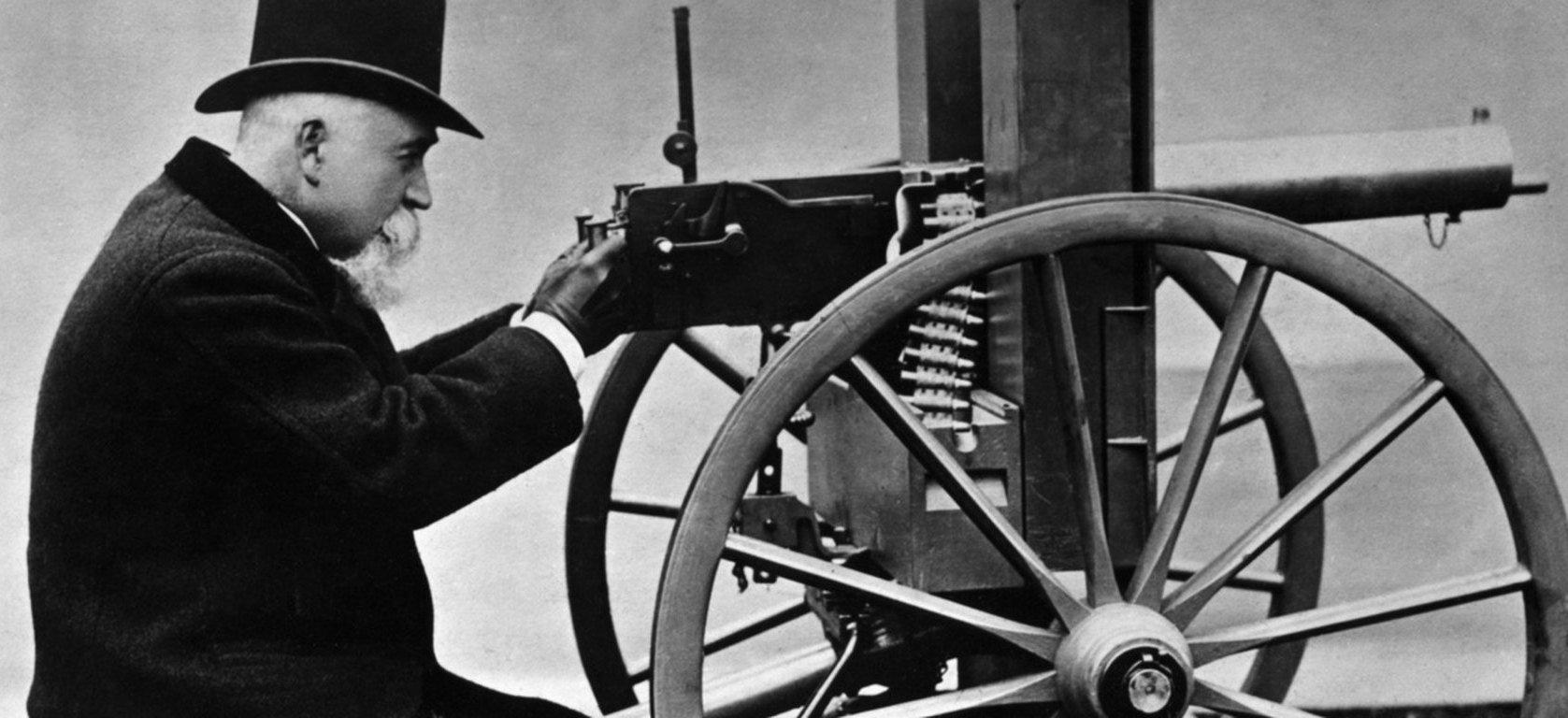 Создатель пулемета