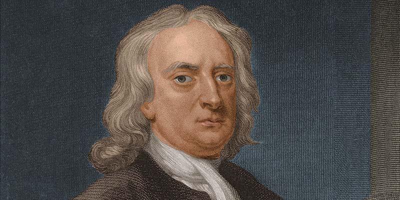 Исааку Ньютону пришлось отправиться домой, его университет был закрыт на карантин.