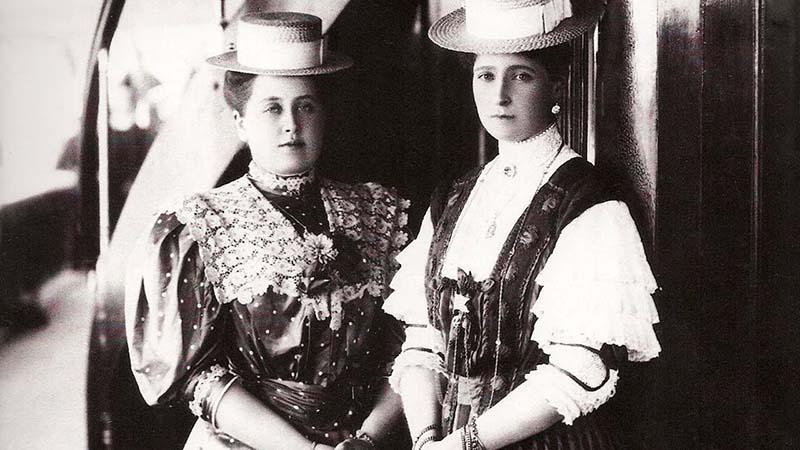 Анна Вырубова была лучшей подругой жизни последней императрицы России