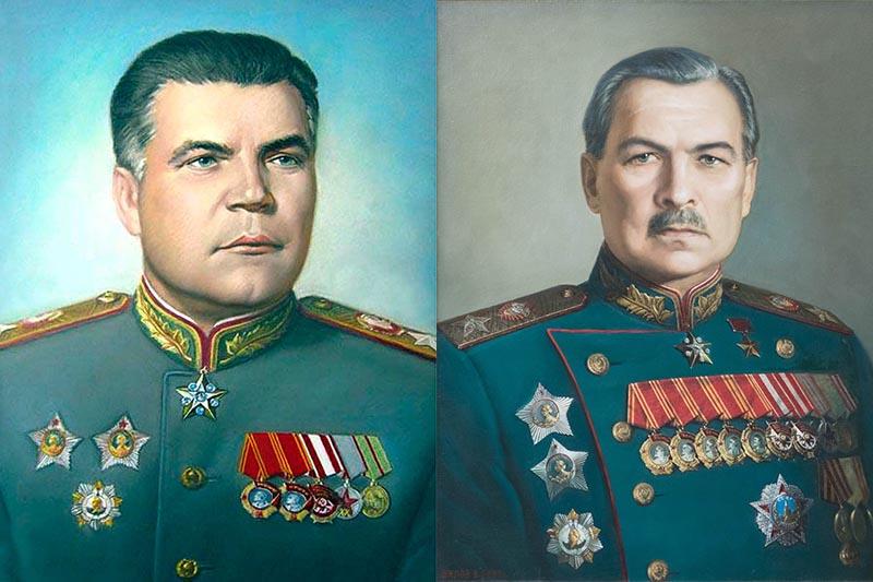 Говоров и Малиновский