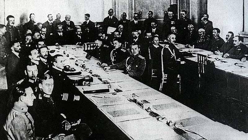 Почему был подписан мирный договор