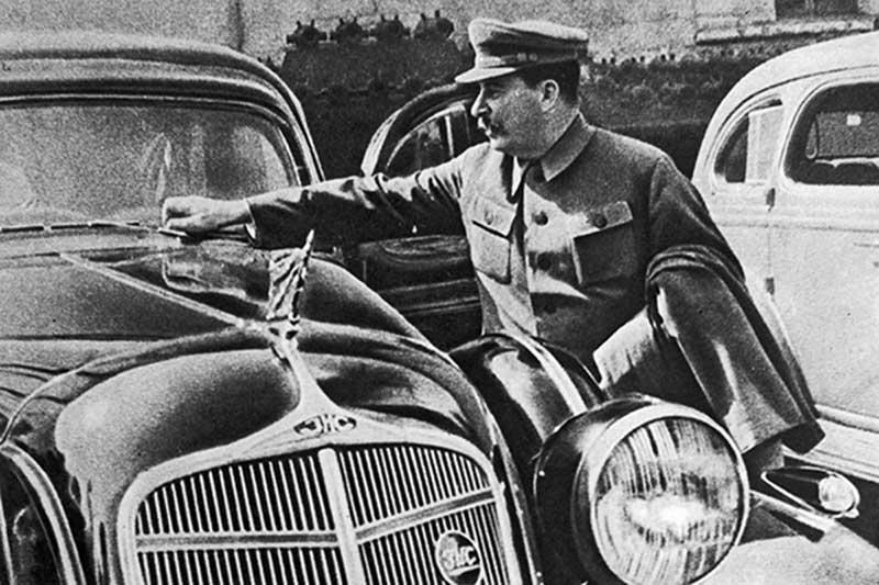Различные шалости Сталина на досуге