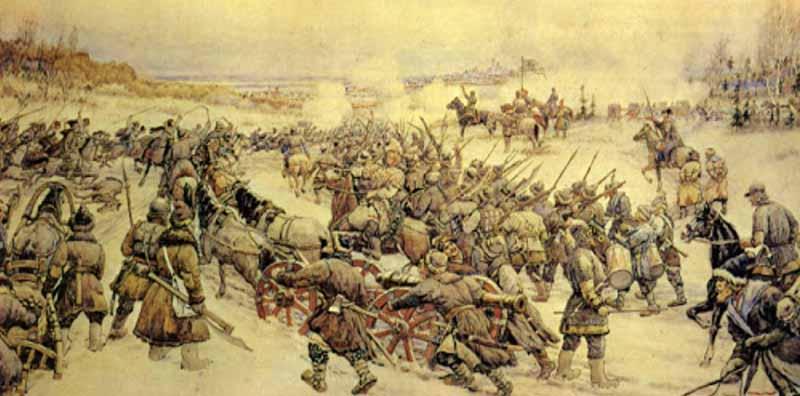 «Комаринские мужики»  помогли Болотникову