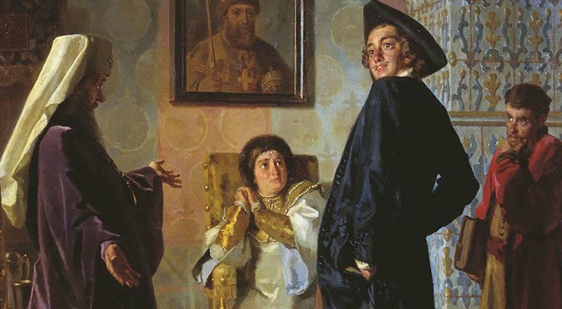 Вторую жену Петра все знают как императрицу Екатерину I