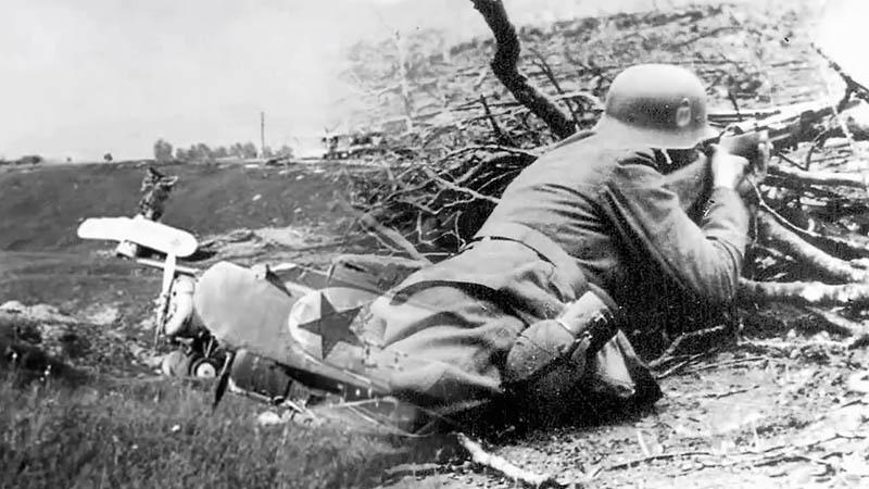 Германия не смогла осуществить свой блицкриг во время Второй Мировой войны