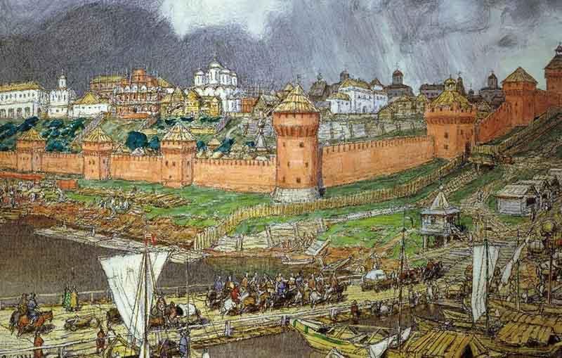 Так были присоединены к русскому государству Углич, целые поселения, расположенные рядом с Ростовым, Владимиром, Костромой, а также вдоль рек Киржач и Мета.