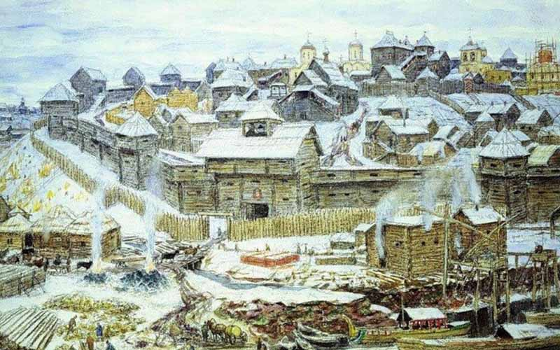 Когда Иван Калита только вступил на престол, он не начал сразу заниматься собиранием земель