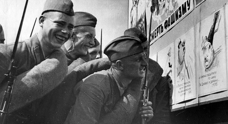 Отпор красноармейцев прибалтийским карателям
