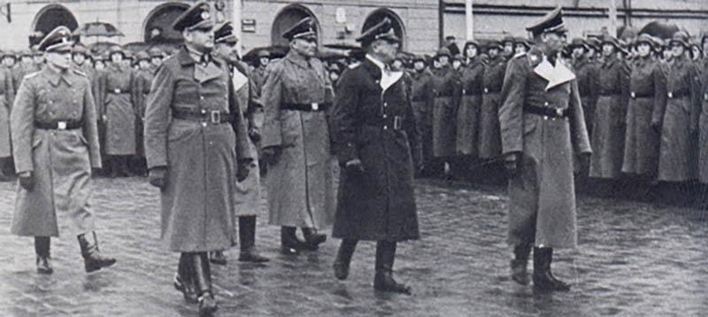 Прибалтийские националисты выполняли функции немецких полицейских в годы войны