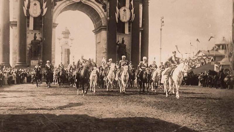 Восхождение Николая II на императорский трон