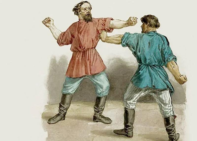Кулачный бой проводился по определенным правилам