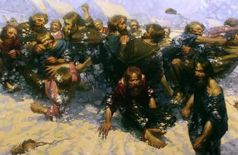 Средневековый кулачный бой