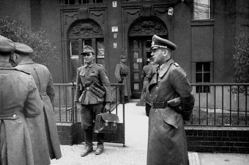 глава гитлеровского генштаба Ганс Кребс