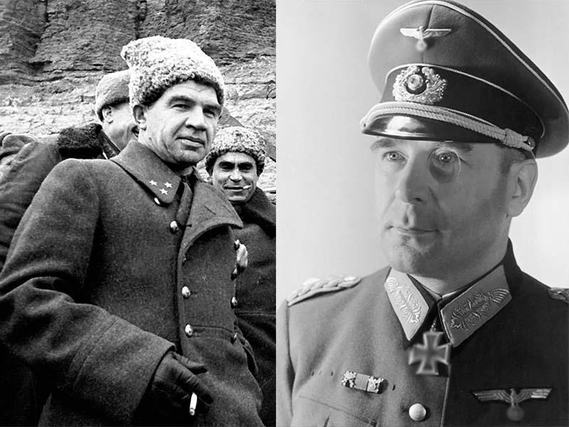 С Василием Чуйковым Кребс встретился в его ставке 1 мая 1945 года