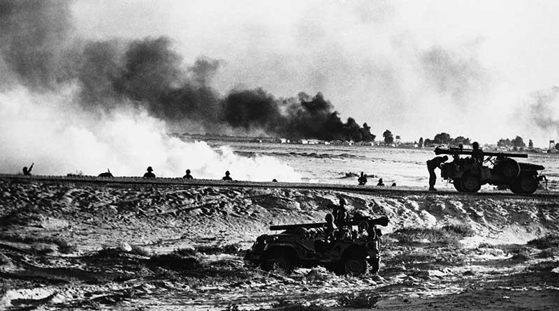 Союз и США чуть не начали воевать с Израилем в 1956 году