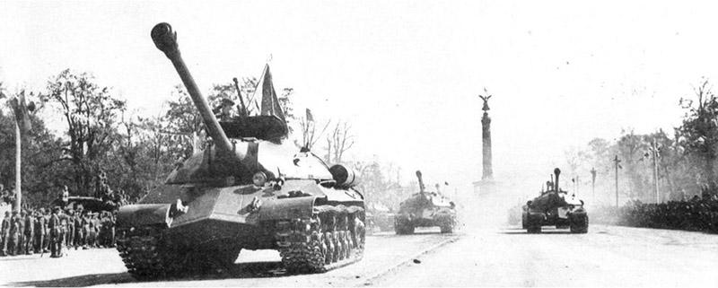 В Великую Отечественную войну танк «ИС-3» так и не принял участие.