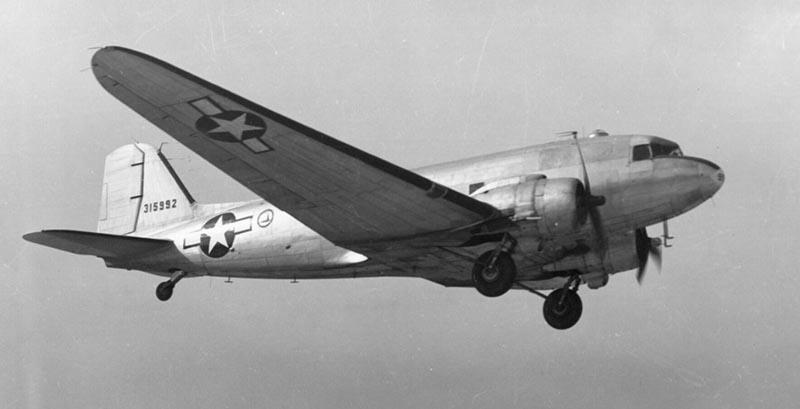 Полет Сталина на Дуглас C-47