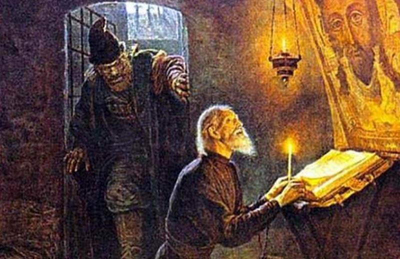 Когда существование опричников стало под угрозой, Малюта обратился к Богу