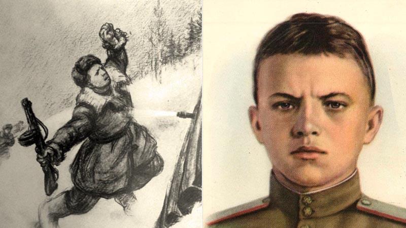 Александр Матросов — герой Великой Отечественной войны