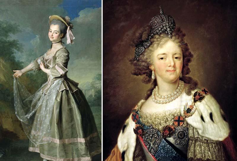 Мария Федоровна — императрица, жена Павла Первого