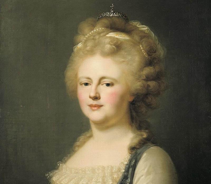 «Чугунная» императрица  Мария была многодетной матерью, родившей 10 детей