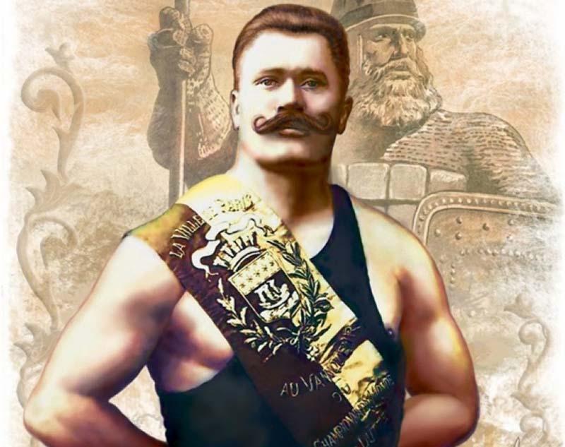 Поддубный — запорожский казак, обладавший немыслимой силой и выносливостью.