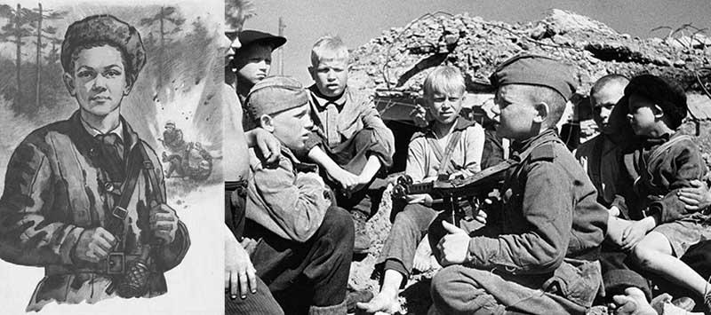 После трагической гибели матери Марат и сестра Ариадна примкнули к отряду партизан осенью 1942 года.