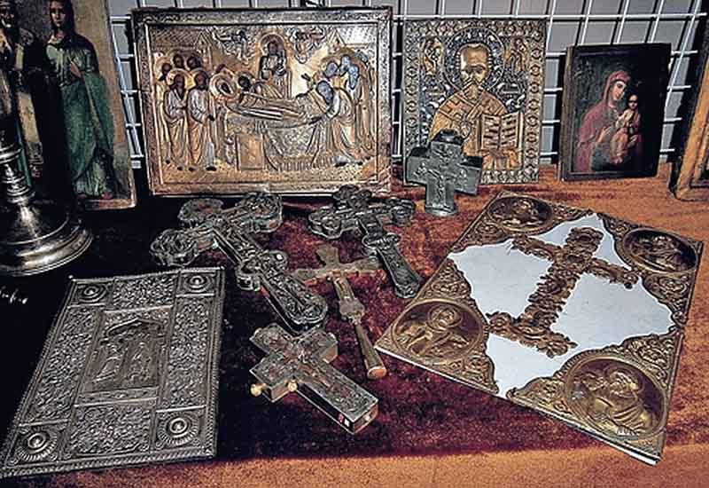 в своей квартире Ильин хранил антиквариат, который стоил огромные деньги