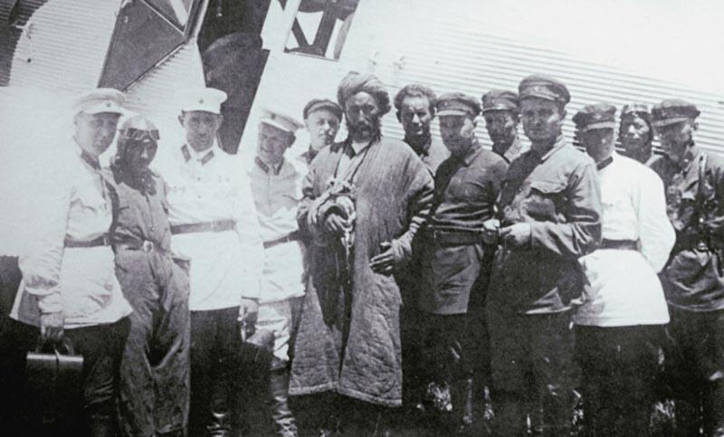 В мае 1929 года отряд красноармейцев под контролем Ивана Петрова уничтожил банды Ибрагим-бека и Сеид-Хусейна.